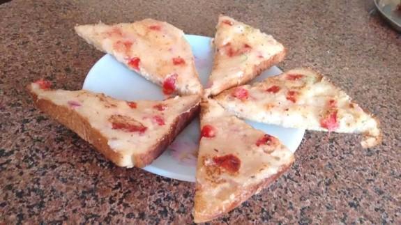 Bread Rava Toast
