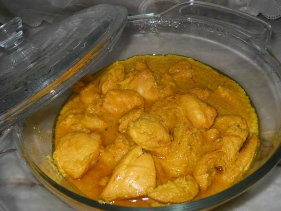 Dahi Chicken