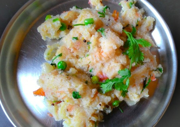 vegetable rava upma