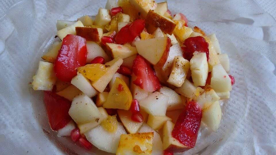 Paneer Fruits Salad