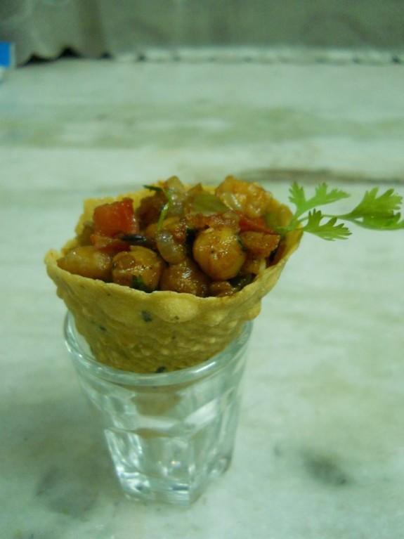 Tacoo Cone Spicy Chana