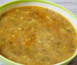 Khade moong dal recipe