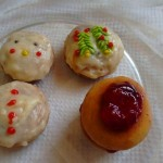 Eggless Ginger Cookies - Decorated