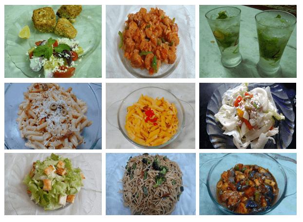 International Foods(Starter + Main Course)