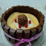 Kitty Fruity Cream Cake