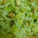 Lettuce and Cottage Cheese Salad