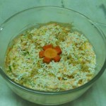 Mayonnaise Cheese Vegetable Salad
