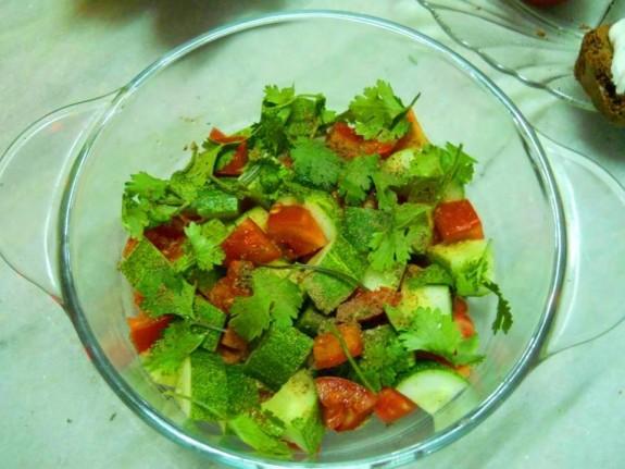 Pure Veg Salad