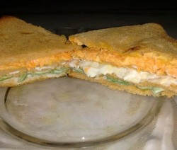 Tri-colour Sandwich