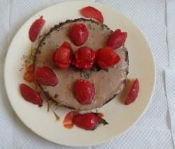 Oreo Cake with Strawberry