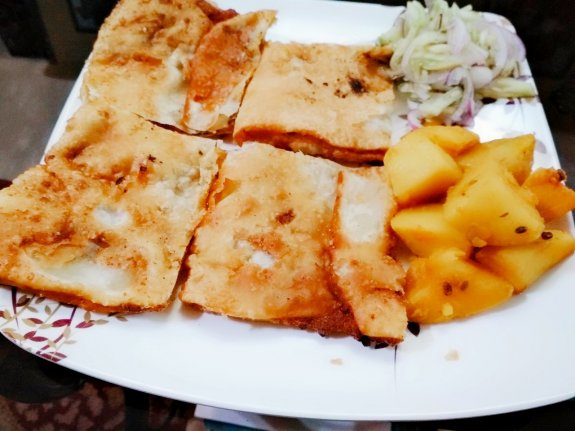 Kolkata Street Food Mughlai Paratha