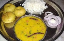 Dal Bati Recipe In Microwave