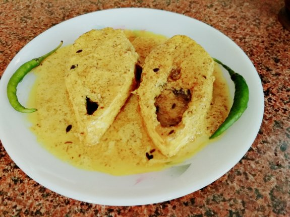 Sorshe Ilish recipe